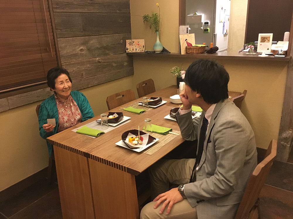 笑顔が素敵な西倉さん。