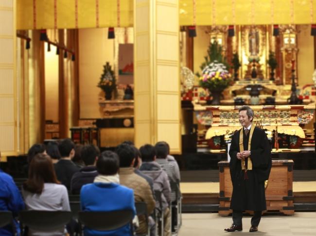 築地本願寺の婚活イベント